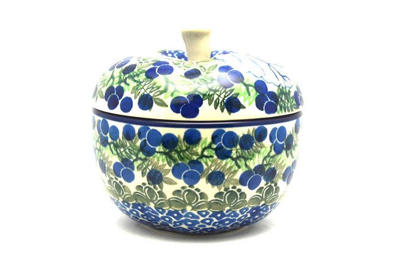 Ceramika Artystyczna Polish Pottery Apple Baker - Huckleberry 034-1413a (Ceramika Artystyczna)
