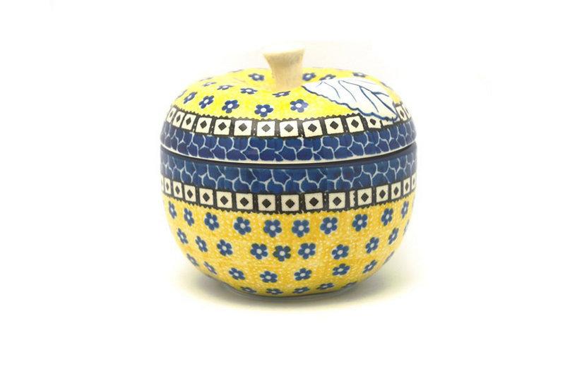 Ceramika Artystyczna Polish Pottery Apple Baker - Sunburst 034-859a (Ceramika Artystyczna)