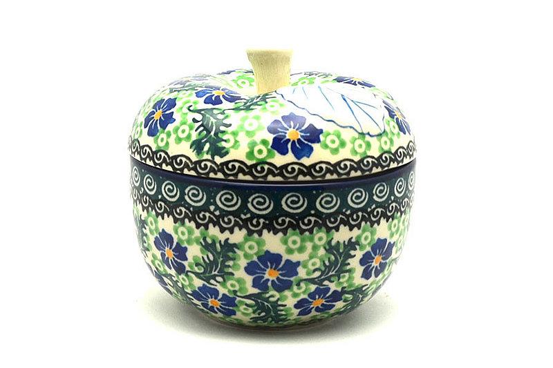 Ceramika Artystyczna Polish Pottery Apple Baker - Sweet Violet 034-1538a (Ceramika Artystyczna)