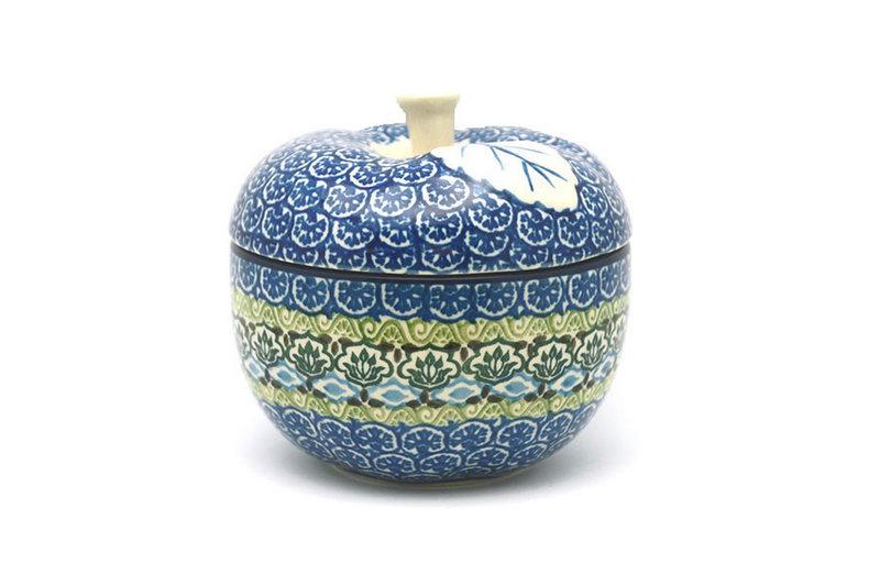 Ceramika Artystyczna Polish Pottery Apple Baker - Tranquility 034-1858a (Ceramika Artystyczna)