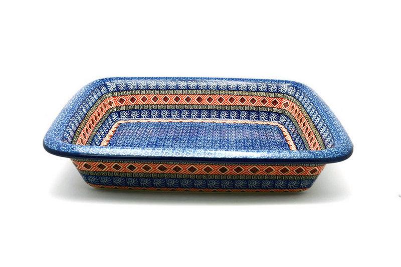 Ceramika Artystyczna Polish Pottery Baker - Lasagna - Aztec Sun 854-1350a (Ceramika Artystyczna)