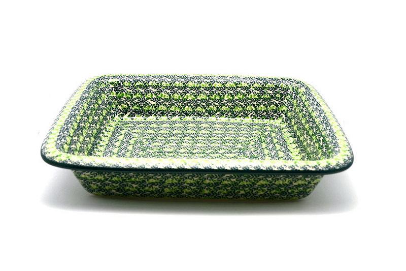 Ceramika Artystyczna Polish Pottery Baker - Lasagna - Irish Meadow 854-1888q (Ceramika Artystyczna)