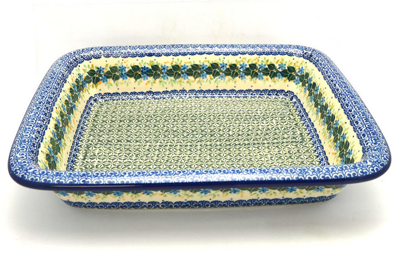 Ceramika Artystyczna Polish Pottery Baker - Lasagna - Ivy Trail 854-1898a (Ceramika Artystyczna)
