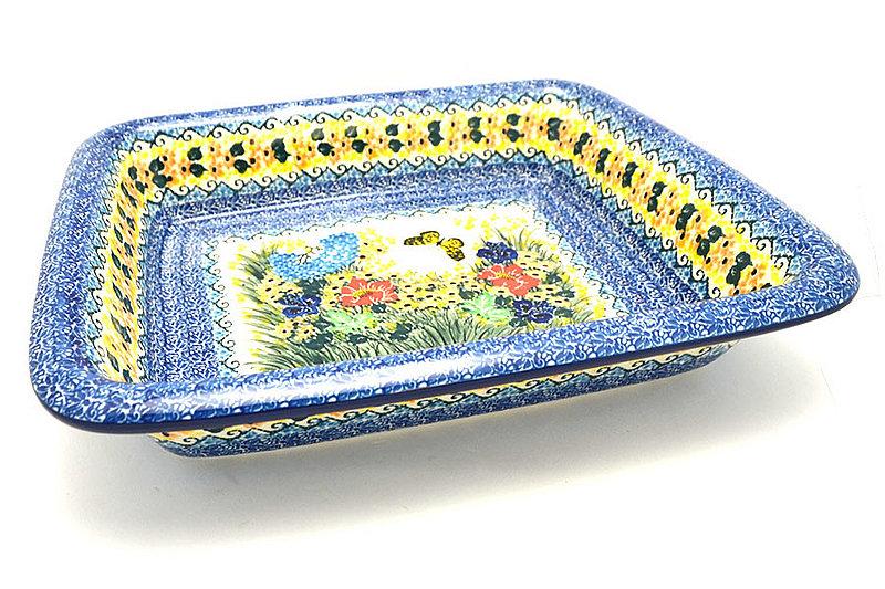 Ceramika Artystyczna Polish Pottery Baker - Lasagna - Unikat Signature U4592 854-U4592 (Ceramika Artystyczna)