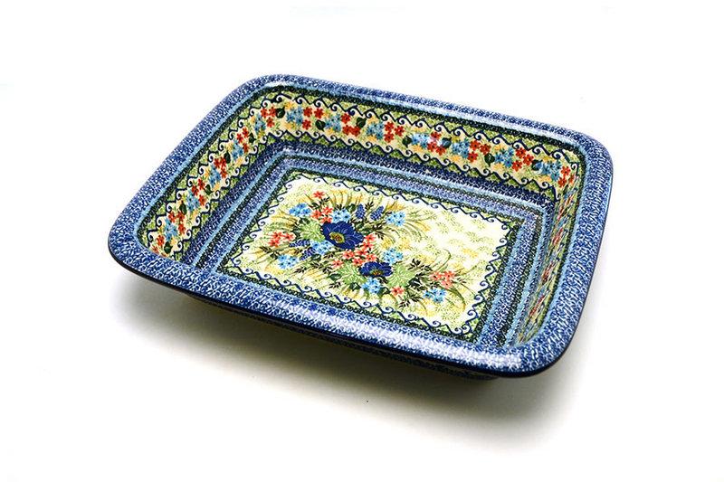 Ceramika Artystyczna Polish Pottery Baker - Lasagna - Unikat Signature U4695 854-U4695 (Ceramika Artystyczna)