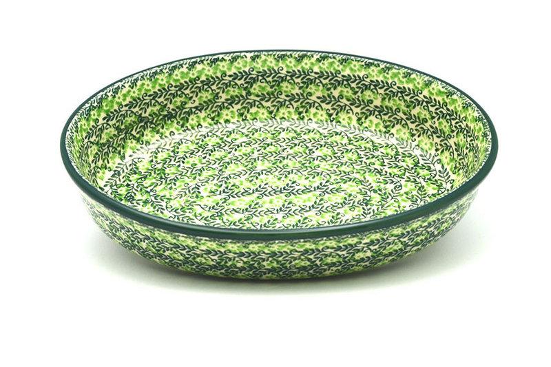 Ceramika Artystyczna Polish Pottery Baker - Oval - Medium - Irish Meadow 298-1888q (Ceramika Artystyczna)