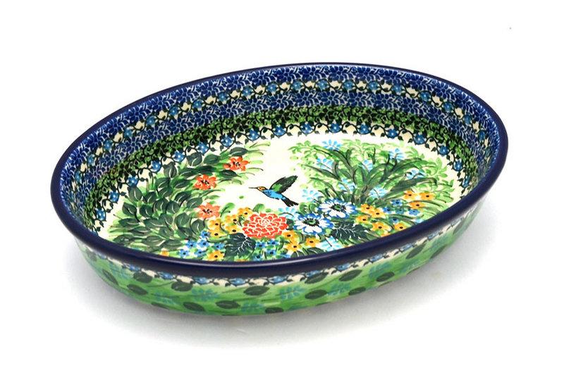 Polish Pottery Baker - Oval - Medium - Unikat Signature U3271