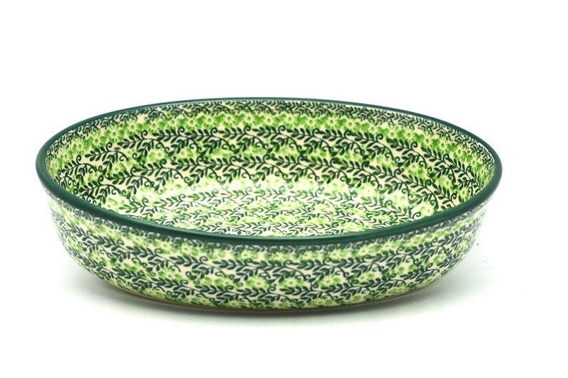 Ceramika Artystyczna Polish Pottery Baker - Oval - Small - Irish Meadow 299-1888q (Ceramika Artystyczna)