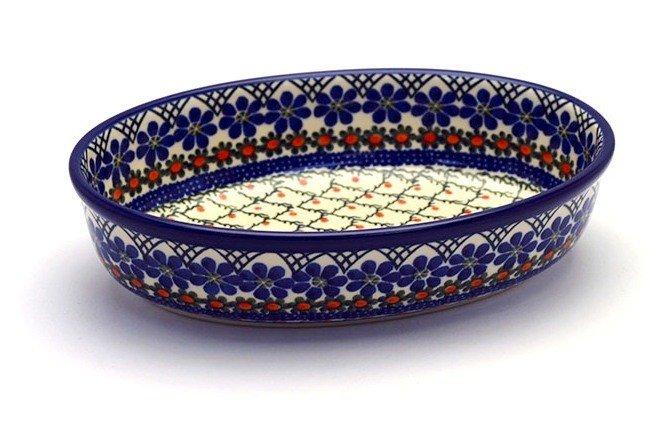 Ceramika Artystyczna Polish Pottery Baker - Oval - Small - Primrose 299-854a (Ceramika Artystyczna)