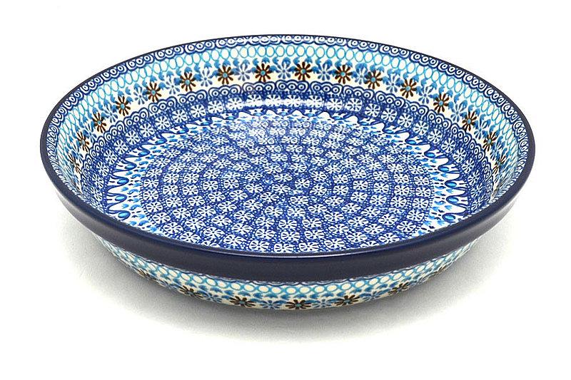 Ceramika Artystyczna Polish Pottery Baker - Pie Dish - Blue Yonder 230-2187a (Ceramika Artystyczna)