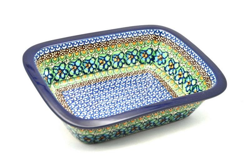 Ceramika Artystyczna Polish Pottery Baker - Rectangular with Grip Lip - Unikat Signature U151 162-U0151 (Ceramika Artystyczna)