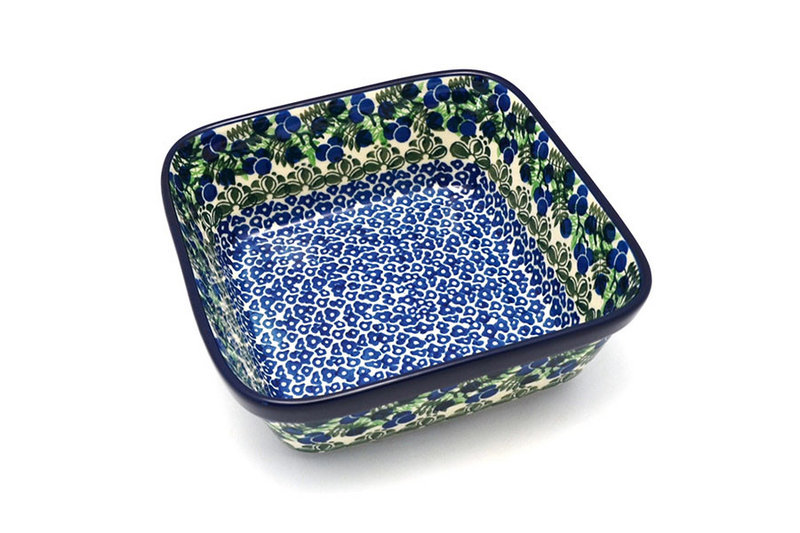 Ceramika Artystyczna Polish Pottery Baker - Square - Huckleberry 430-1413a (Ceramika Artystyczna)