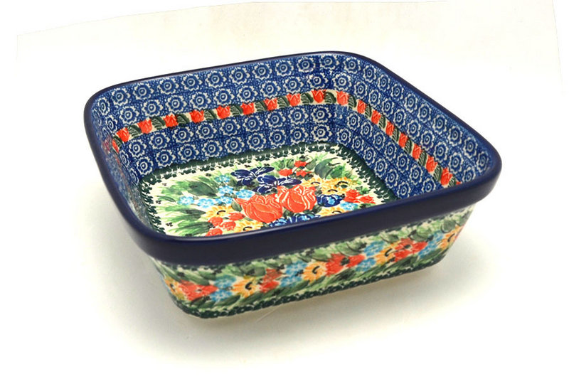 Ceramika Artystyczna Polish Pottery Baker - Square - Unikat Signature - U3516 430-U3516 (Ceramika Artystyczna)
