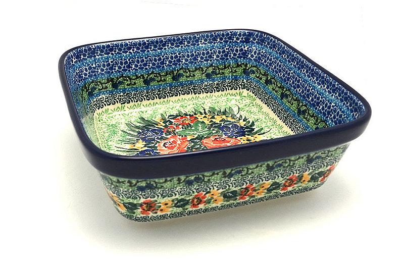 Ceramika Artystyczna Polish Pottery Baker - Square - Unikat Signature - U4400 430-U4400 (Ceramika Artystyczna)