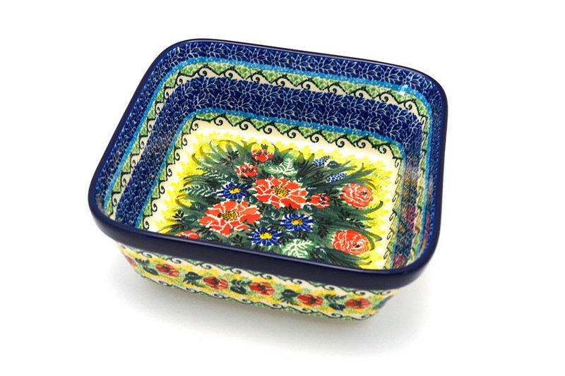 Ceramika Artystyczna Polish Pottery Baker - Square - Unikat Signature - U4610 430-U4610 (Ceramika Artystyczna)