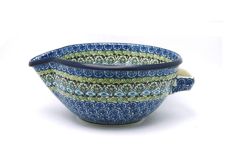 Ceramika Artystyczna Polish Pottery Batter Bowl - 1 quart - Tranquility 240-1858a (Ceramika Artystyczna)
