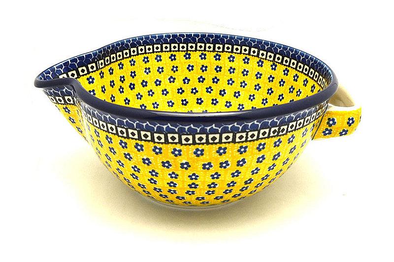 Ceramika Artystyczna Polish Pottery Batter Bowl - 2 quart - Sunburst 714-859a (Ceramika Artystyczna)