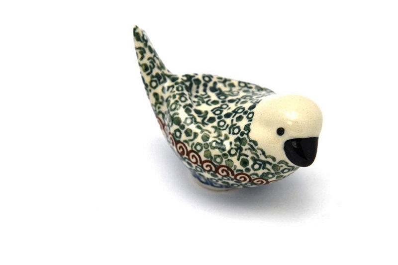 Ceramika Artystyczna Polish Pottery Bird Figurine - A - Autumn 715-050a (Ceramika Artystyczna)