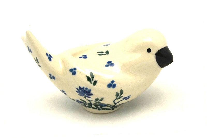 Ceramika Artystyczna Polish Pottery Bird Figurine - A - Blue Clover 715-1978a (Ceramika Artystyczna)