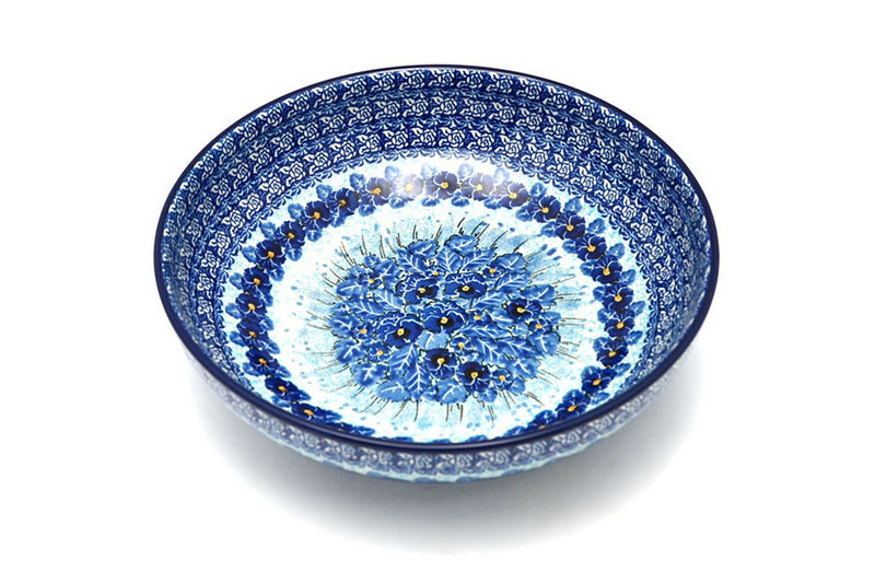 """Ceramika Artystyczna Polish Pottery Bowl - Contemporary - Large (11"""") - Unikat Signature U3639 C36-U3639 (Ceramika Artystyczna)"""