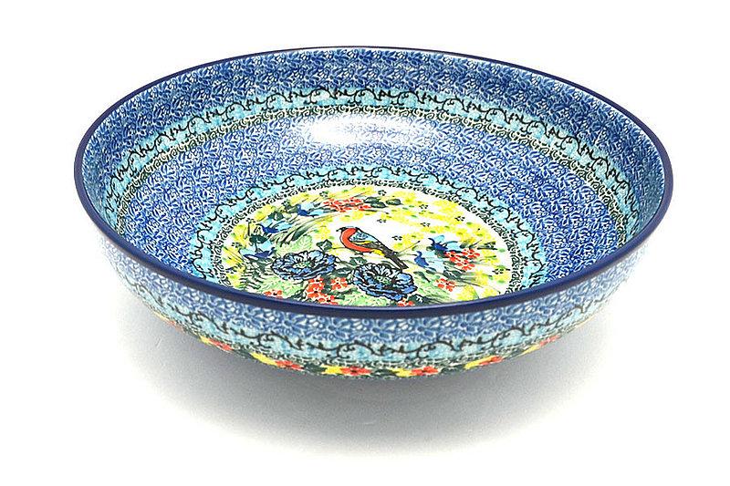 """Ceramika Artystyczna Polish Pottery Bowl - Contemporary - Large (11"""") - Unikat Signature U4512 C36-U4512 (Ceramika Artystyczna)"""
