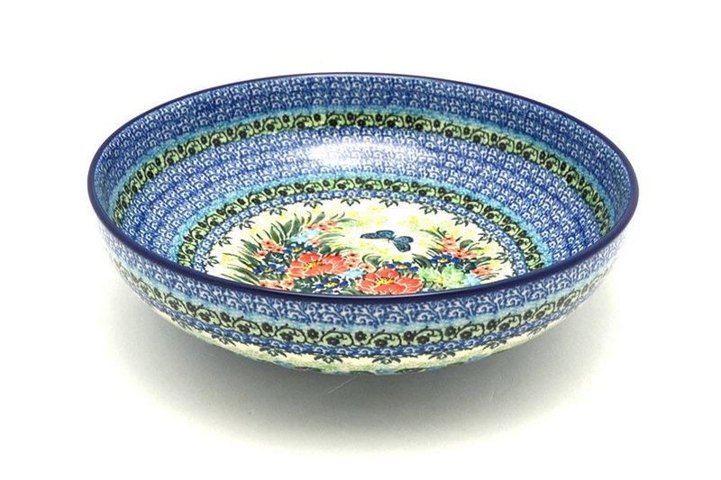 """Ceramika Artystyczna Polish Pottery Bowl - Contemporary - Large (11"""") - Unikat Signature U4553 C36-U4553 (Ceramika Artystyczna)"""