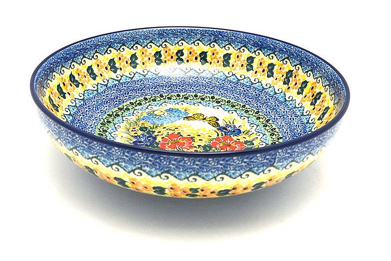 """Ceramika Artystyczna Polish Pottery Bowl - Contemporary - Large (11"""") - Unikat Signature U4592 C36-U4592 (Ceramika Artystyczna)"""