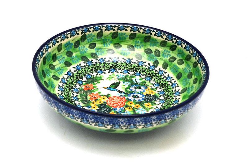 "Ceramika Artystyczna Polish Pottery Bowl - Contemporary - Medium (9"") - Unikat Signature U3271 B91-U3271 (Ceramika Artystyczna)"