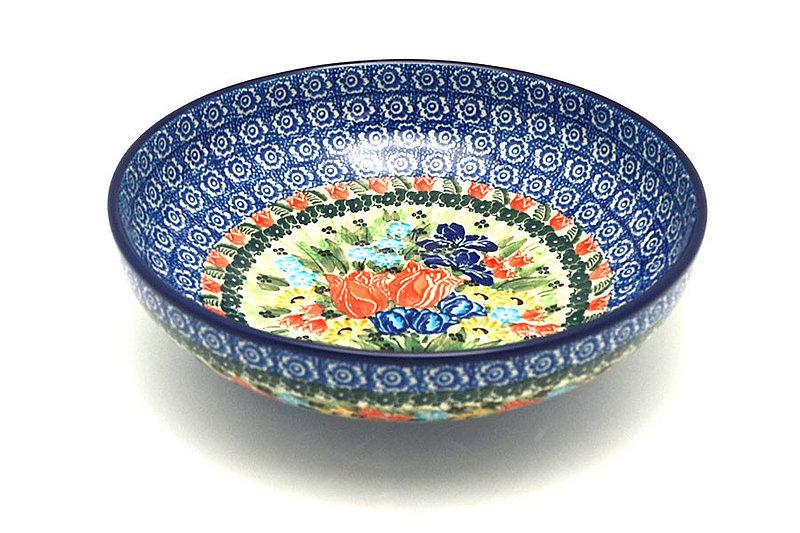 "Ceramika Artystyczna Polish Pottery Bowl - Contemporary - Medium (9"") - Unikat Signature U3516 B91-U3516 (Ceramika Artystyczna)"