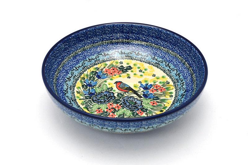 "Ceramika Artystyczna Polish Pottery Bowl - Contemporary - Medium (9"") - Unikat Signature U4512 B91-U4512 (Ceramika Artystyczna)"
