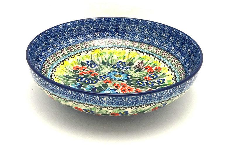 "Ceramika Artystyczna Polish Pottery Bowl - Contemporary - Medium (9"") - Unikat Signature U4558 B91-U4558 (Ceramika Artystyczna)"