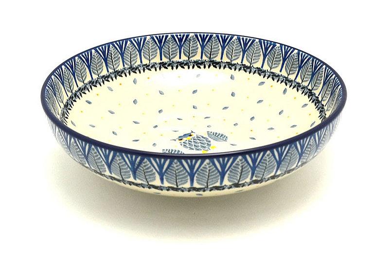 "Ceramika Artystyczna Polish Pottery Bowl - Contemporary - Medium (9"") - Unikat Signature U4873 B91-U4873 (Ceramika Artystyczna)"