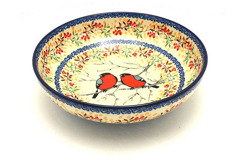 "Ceramika Artystyczna Polish Pottery Bowl - Contemporary - Medium (9"") - Unikat Signature U4908 B91-U4908 (Ceramika Artystyczna)"