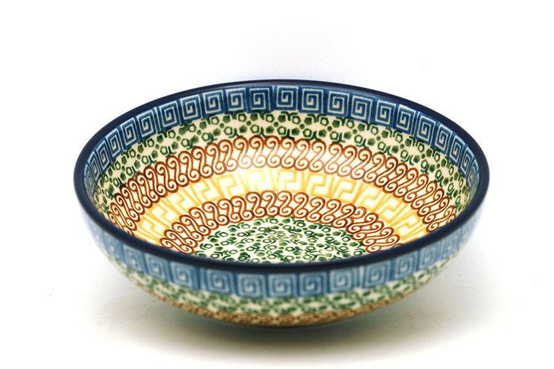 Ceramika Artystyczna Polish Pottery Bowl - Contemporary Salad - Autumn B90-050a (Ceramika Artystyczna)