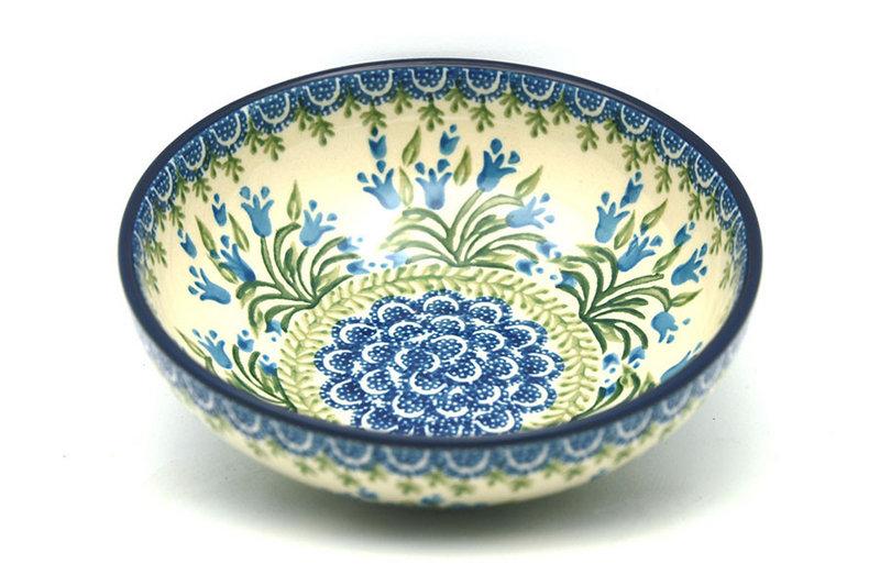 Ceramika Artystyczna Polish Pottery Bowl -Contemporary Salad - Blue Bells B90-1432a (Ceramika Artystyczna)