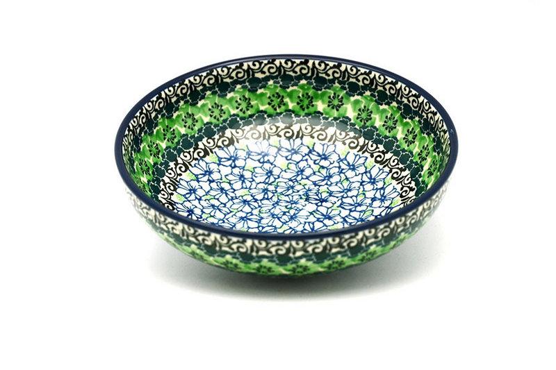 Ceramika Artystyczna Polish Pottery Bowl - Contemporary Salad - Kiwi B90-1479a (Ceramika Artystyczna)