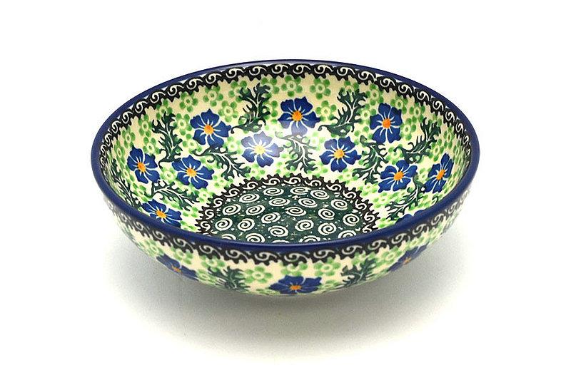 Ceramika Artystyczna Polish Pottery Bowl - Contemporary Salad - Sweet Violet B90-1538a (Ceramika Artystyczna)