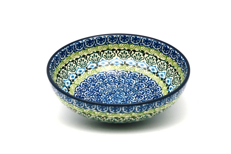 Ceramika Artystyczna Polish Pottery Bowl - Contemporary Salad - Tranquility B90-1858a (Ceramika Artystyczna)