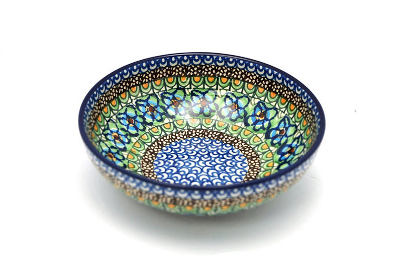Ceramika Artystyczna Polish Pottery Bowl - Contemporary Salad - Unikat Signature - U151 B90-U0151 (Ceramika Artystyczna)