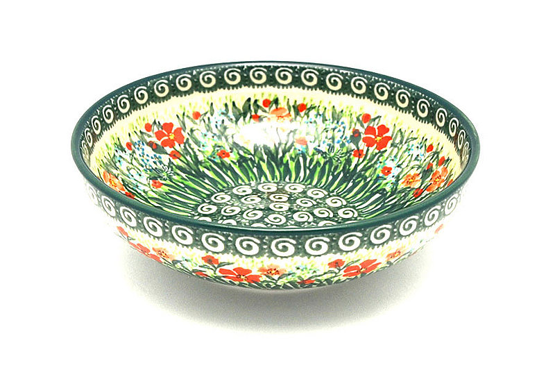 Ceramika Artystyczna Polish Pottery Bowl - Contemporary Salad - Unikat Signature - U4336 B90-U4336 (Ceramika Artystyczna)