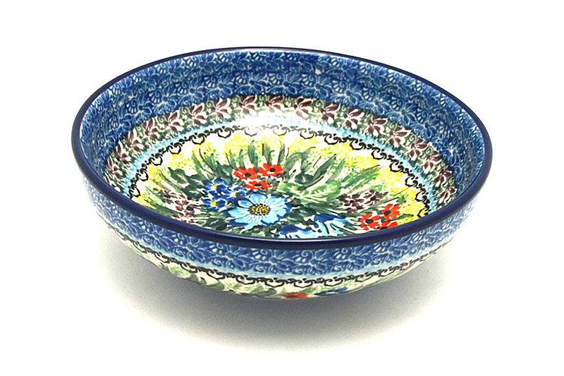Ceramika Artystyczna Polish Pottery Bowl - Contemporary Salad - Unikat Signature - U4558 B90-U4558 (Ceramika Artystyczna)