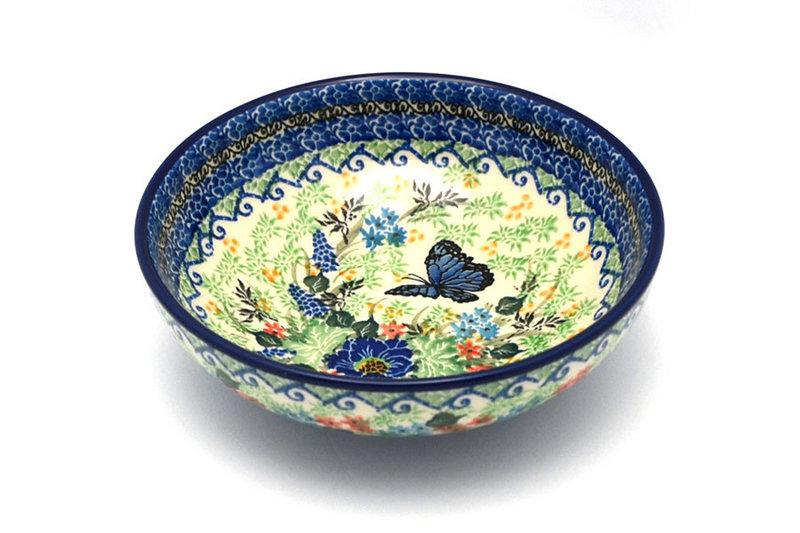 Ceramika Artystyczna Polish Pottery Bowl - Contemporary Salad - Unikat Signature - U4600 B90-U4600 (Ceramika Artystyczna)