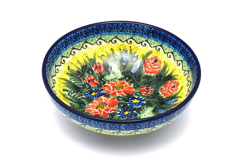 Ceramika Artystyczna Polish Pottery Bowl - Contemporary Salad - Unikat Signature - U4610 B90-U4610 (Ceramika Artystyczna)