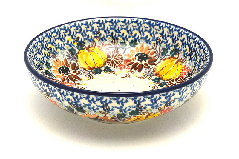 Ceramika Artystyczna Polish Pottery Bowl - Contemporary Salad - Unikat Signature - U4741 B90-U4741 (Ceramika Artystyczna)