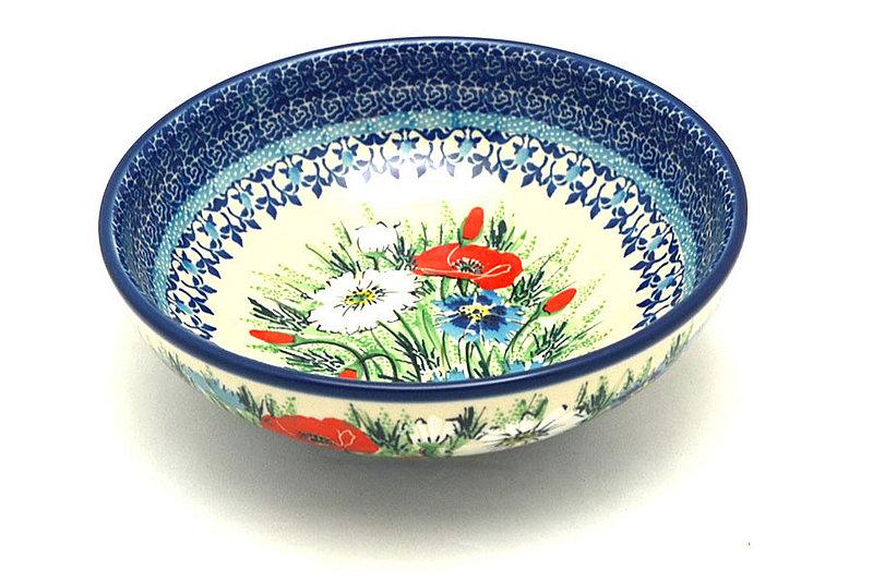 Ceramika Artystyczna Polish Pottery Bowl - Contemporary Salad - Unikat Signature - U4953 B90-U4953 (Ceramika Artystyczna)