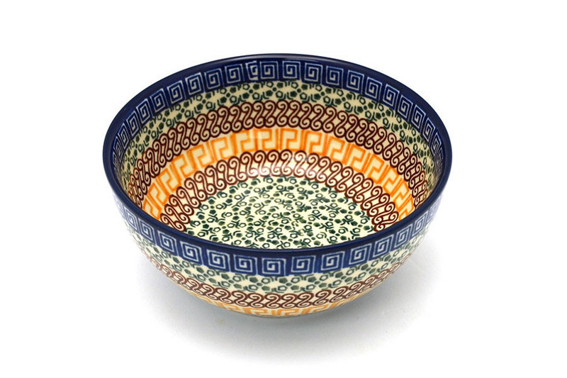Ceramika Artystyczna Polish Pottery Bowl - Coupe Cereal - Autumn C38-050a (Ceramika Artystyczna)