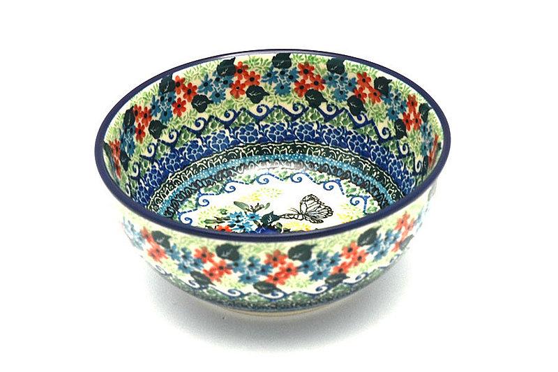 Ceramika Artystyczna Polish Pottery Bowl - Coupe Cereal - Unikat Signature - U4600 C38-U4600 (Ceramika Artystyczna)