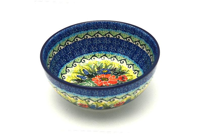 Ceramika Artystyczna Polish Pottery Bowl - Coupe Cereal - Unikat Signature - U4610 C38-U4610 (Ceramika Artystyczna)