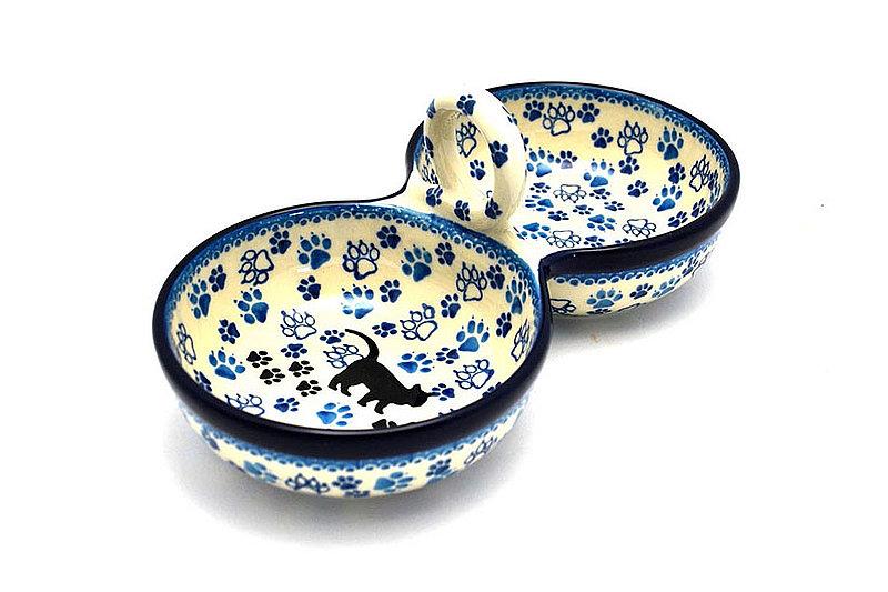 Ceramika Artystyczna Polish Pottery Bowl - Double Serving - Boo Boo Kitty 942-1771a (Ceramika Artystyczna)