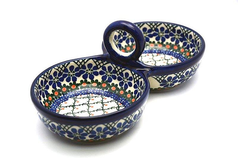 Ceramika Artystyczna Polish Pottery Bowl - Double Serving - Primrose 942-854a (Ceramika Artystyczna)